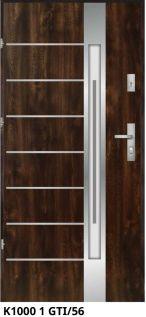 vchodové bezpečnostné dvere masív hnedé ekoprofil.sk