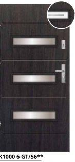 vchodové bezpečnostné dvere čierne sklenené ekoprofil.sk