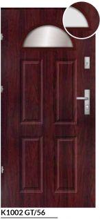 komsta vchodové bezpečnostné dvere červené ekoprofil.sk
