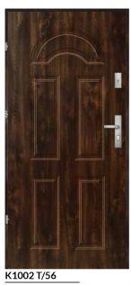 vchodové bezpečnostné dvere hnedé ekoprofil.sk