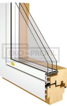 drevené okno flatline ekoprofil.sk