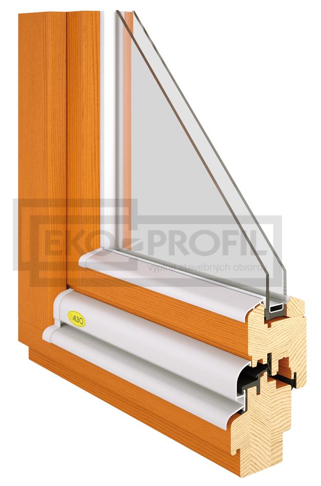 drevené okno drevo styl ekoprofil.sk