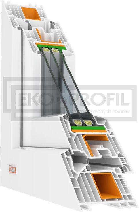 Plastové okno Veka Softline 82 MD