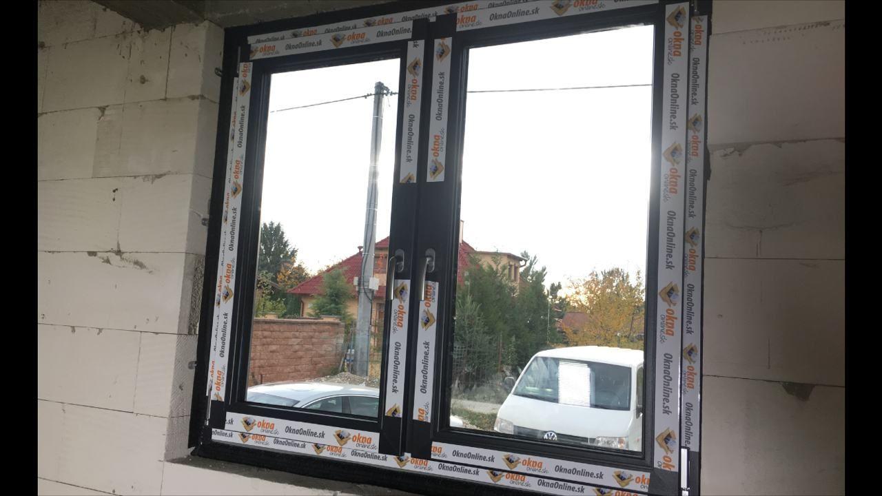 montáž plastových okien