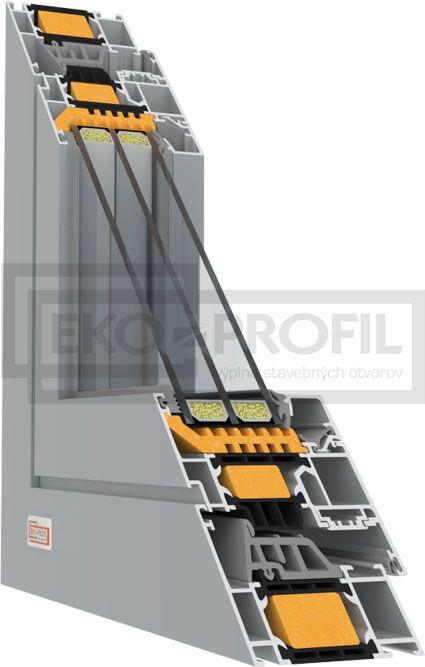 plastové okno šedé SCHUCO_AWS_75SI-C-911x1024 ekoprofil.sk