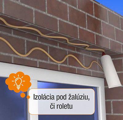 montáž izolácie pod žalúzie či roletu ekoprofil.sk