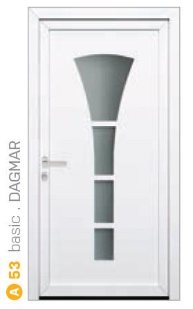 biele sklenené bezpečnostné dvere ekoprofil.sk
