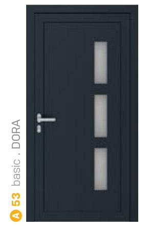 čierne sklenené bezpečnostné dvere ekoprofil.sk