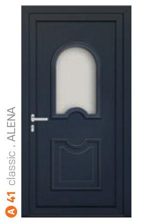Plastové dvere classic Alena ekoprofil.sk