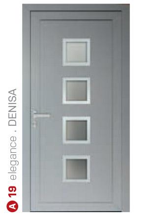 elegance denisa sivé bezpečnostné plastové dvere ekoprofil.sk