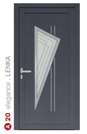 elegance lenka sivé bezpečnostné plastové dvere ekoprofil.sk
