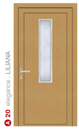 elegance liliana svetlé bezpečnostné plastové dvere ekoprofil.sk