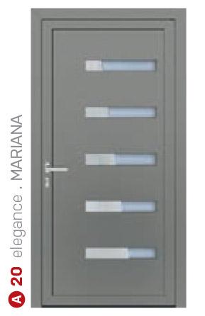 elegance mariana sivé bezpečnostné plastové dvere ekoprofil.sk