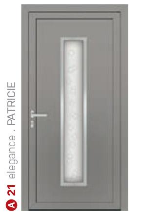 elegance patricie sivé bezpečnostné plastové dvere ekoprofil.sk