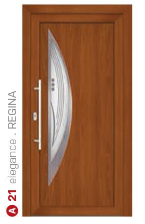 elegance regina hnedé bezpečnostné plastové dvere ekoprofil.sk