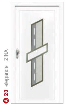 elegance zina biele bezpečnostné plastové dvere ekoprofil.sk