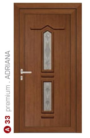 premium adriana hnedé bezpečnostné dvere ekoprofil.sk