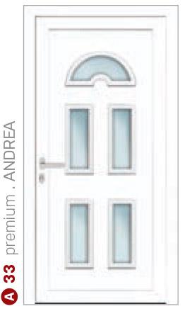 premium andrea biele bezpečnostné dvere ekoprofil.sk
