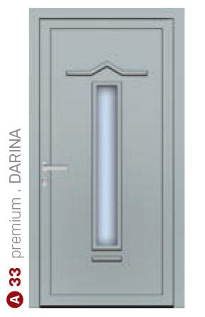 premium darina sivé bezpečnostné dvere ekoprofil.sk