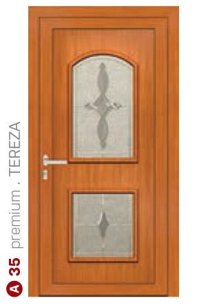 premium tereza hnedé bezpečnostné dvere ekoprofil.sk