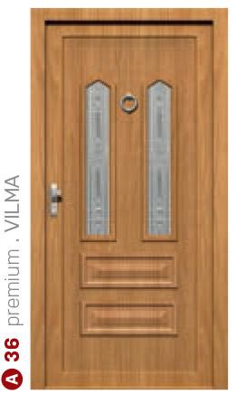premium vilma hnedé bezpečnostné dvere ekoprofil.sk