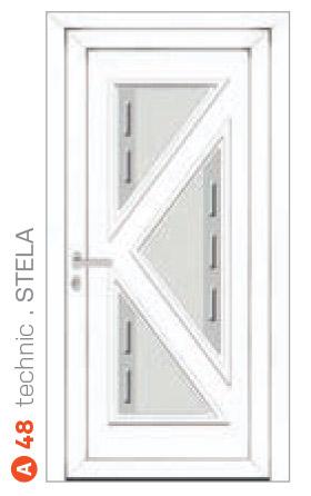 biele technic stela bezpečnostné dvere ekoprofil.sk