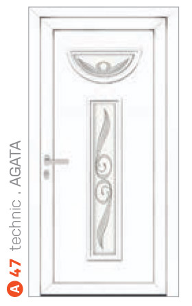 technic Agata biele bezpečnostné dvere ekoprofil.sk