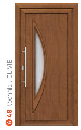 technic olivie hnedé bezpečnostné dvere ekoprofil.sk