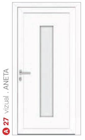 vizual aneta biele bezpečnostné plastové dvere ekoprofil.sk