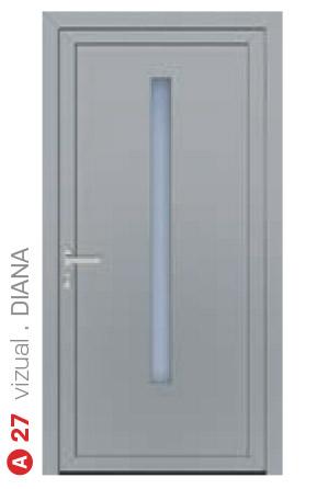 vizual diana sivé bezpečnostné dvere ekoprofil.sk