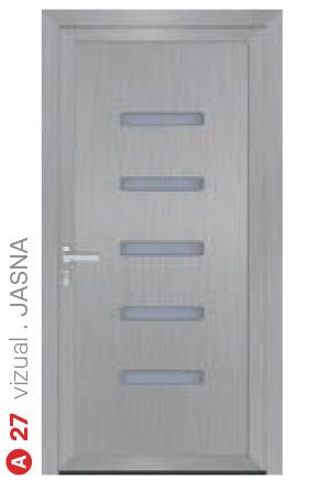 vizual jasna sivé bezpečnostné dvere ekoprofil.sk