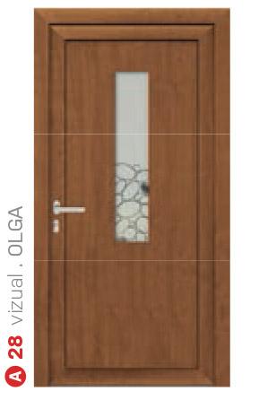 vizual olga hnedé bezpečnostné dvere ekoprofil.sk