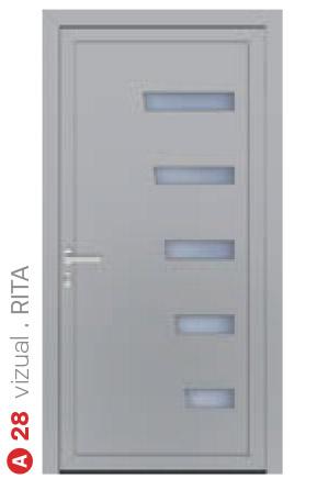 vizual rita biele bezpečnostné dvere ekoprofil.sk