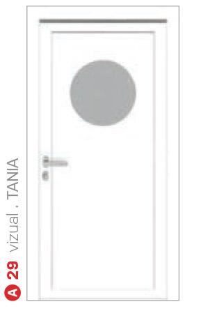 vizual tania biele bezpečnostné dvere ekoprofil.sk