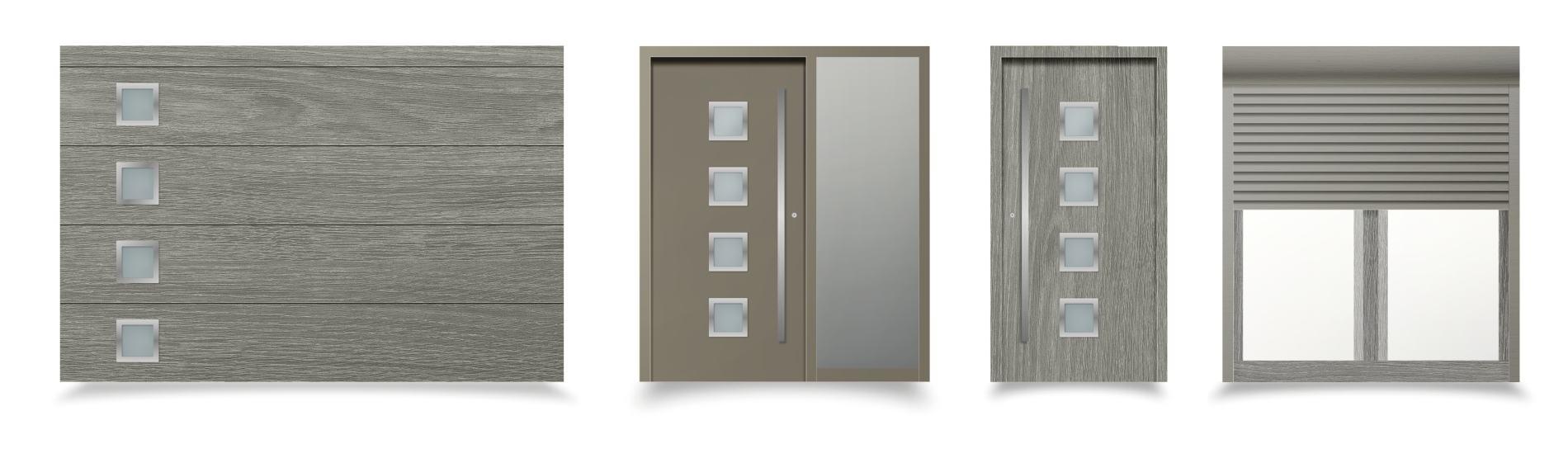 sivé okná a dvere messina ekoprofil.sk