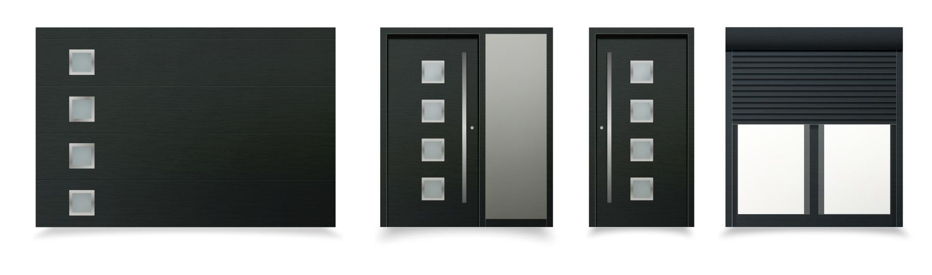 čierne okná a dvere messina ekoprofil.sk
