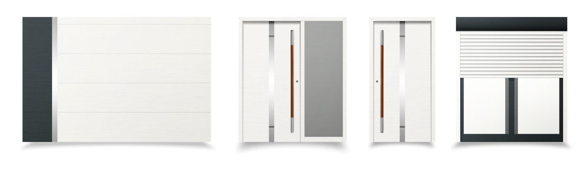 biele okná a dvere torino ekoprofil.sk