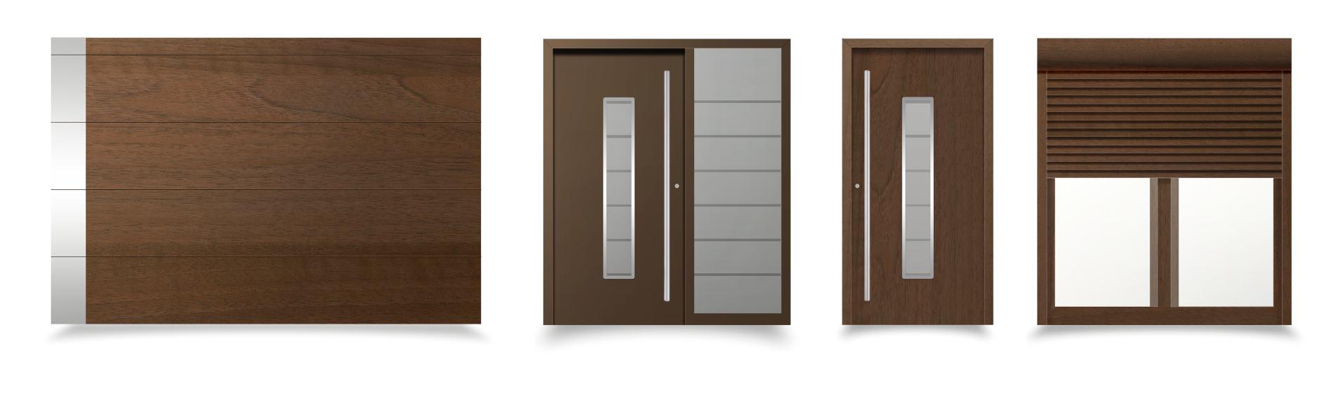 hnedé okná a dvere verona ekoprofil.sk
