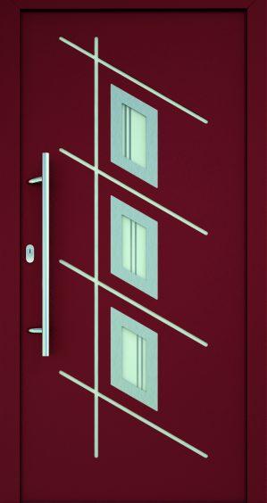 plastové dvere rada entry angelika červené ekoprofil.sk