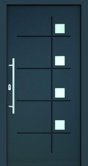 plastové dvere rada entry barbara ral7016 ral 9005 modré ekoprofil.sk