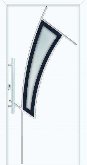 plastové dvere rada entry donatela ral9016 7045 biele ekoprofil.sk