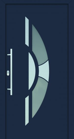 plastové dvere rada entry ester ral7024 modré ekoprofil.sk