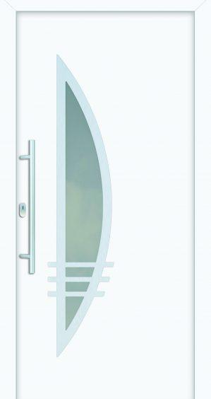 plastové dvere rada entry flavia ral9016 ekoprofil.sk