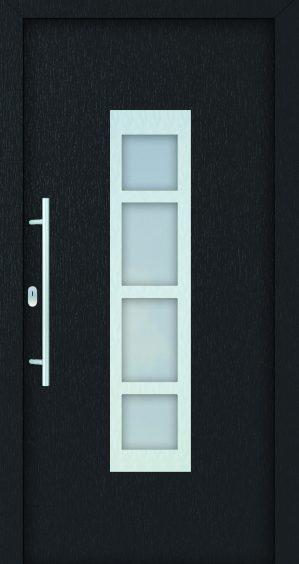 plastové dvere rada entry gita antrazit čierne ekoprofil.sk