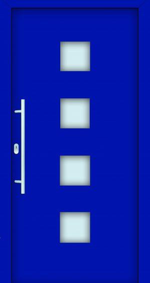 plastové dvere rada entry ida ral 5005 modré ekoprofil.sk