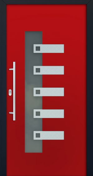 plastové dvere rada entry isabela 3002 ram antrazit červené ekoprofil.sk