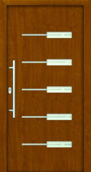 plastové dvere rada entry kim golden oak zlatý dub ekoprofil.sk