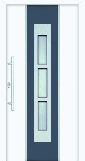 plastové dvere rada entry marion ral9016 šedé modré ekoprofil.sk