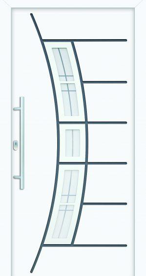 plastové dvere rada entry biele finesa-madlo ekoprofil.sk