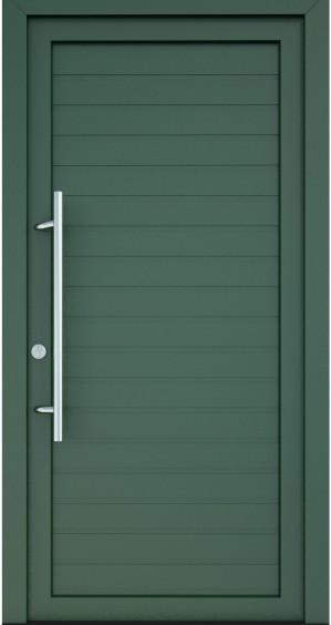plastove-vchodove-dvere-serena- zelené ekoprofil.sk